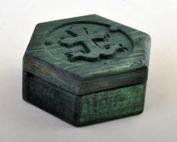 Kutija_za_tamjan_krst_sidro_zelena