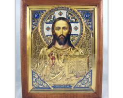 Isus_hristos_majolika_ram
