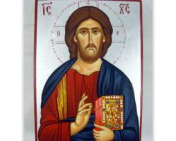 Isus_Hristos_slikana_srebrna_V