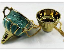 Kandilo_zidno_keramika_zelena_ukrajina